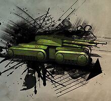 Tank by Paul Van Opdenbosch