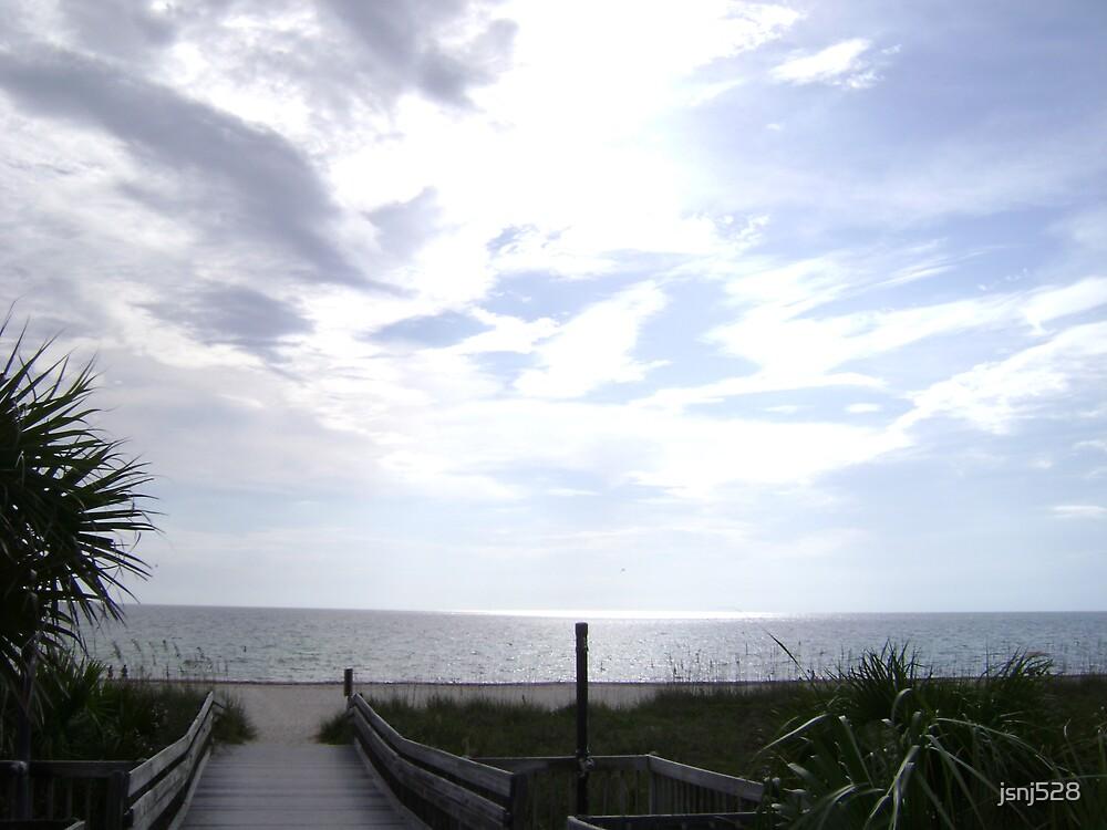 CASEY KEY BEACH by jsnj528