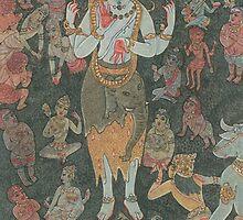 Shiva & his Devotees by Swagavad-Gita