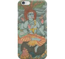 Shiva Gives Discourse on Yoga iPhone Case/Skin