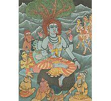 Shiva Gives Discourse on Yoga Photographic Print