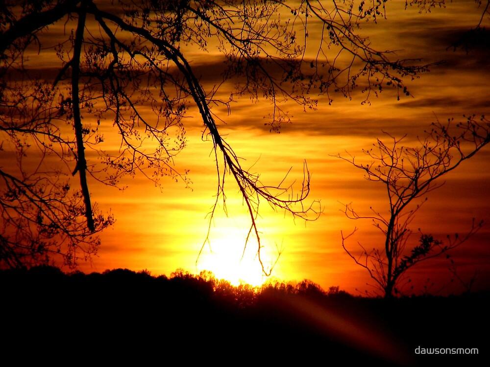 Autumn Sunset by dawsonsmom