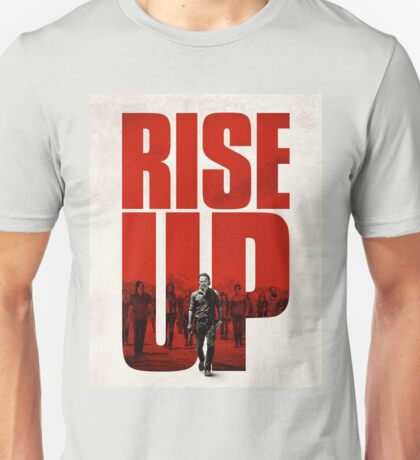 Walking Dead Rise up Products Unisex T-Shirt