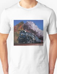 Nickel Plate Road #765 - New River Train Unisex T-Shirt