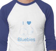 I Heart Bluebies Men's Baseball ¾ T-Shirt