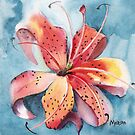 Peach of a Lily by Marsha Woods
