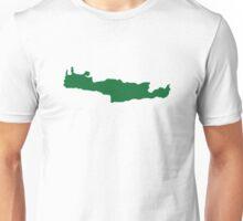 Crete map Unisex T-Shirt