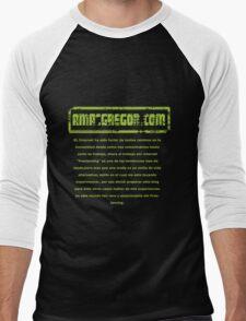 The AmacGregor Blog Men's Baseball ¾ T-Shirt