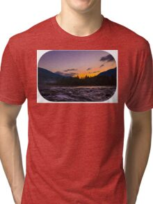 Autumn sunrise Tri-blend T-Shirt