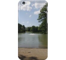 Sandbank at Nature Park Lake iPhone Case/Skin