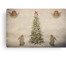 Spread Good Tidings Over The Earth Canvas Print