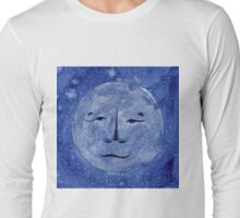 OLD LION NEW MOON Long Sleeve T-Shirt