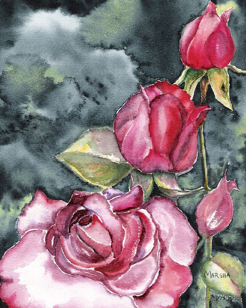 Rose Promise by Marsha Woods
