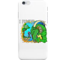 Knight forgives Dragon iPhone Case/Skin