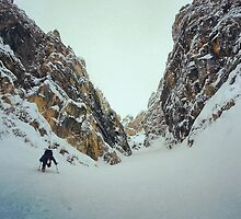 backcountry splitboarding by driller