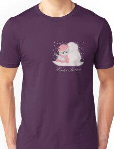 Winter Kitten Unisex T-Shirt