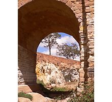 Through the djerriwarrh arch Photographic Print