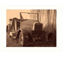 Vintage Automobile Art Print