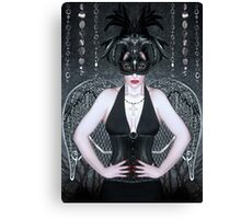 Keeper of the Night - Self Portrait Canvas Print