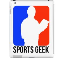 Sports Geek Logo - Jerry West style iPad Case/Skin