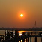 Sunset at Wrightsville Beach by Cynthia48