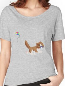Kite Kitten Women's Relaxed Fit T-Shirt