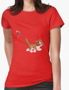 Kite Kitten Womens Fitted T-Shirt