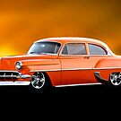 1954 Chevrolet Bel Air 'Post Coupe' by DaveKoontz