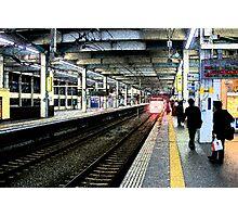 Shinkansen To Kyoto Photographic Print