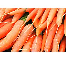 Carrots Photographic Print