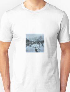 backcountry splitboarding Unisex T-Shirt