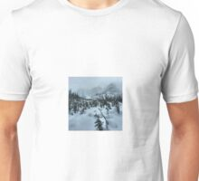 backcountry splitboarding Unisex T-Shirt