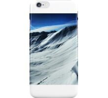 backcountry splitboarding iPhone Case/Skin