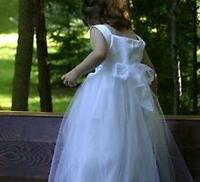 Flower Girl in waiting by mamaoftwo