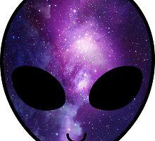 Galaxy Alien by Anna Wilson