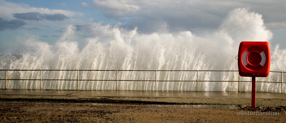 railing wave by allisterhamilton