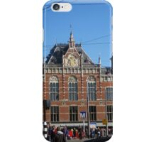 Centraal Station in Amsterdam, Netherlands iPhone Case/Skin