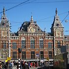 Centraal Station in Amsterdam, Netherlands by Patricia127