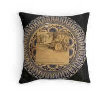 18th Century English Artwork Throw Pillow