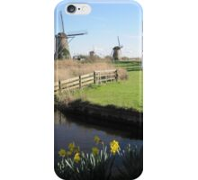 Kinderdijk, Netherlands iPhone Case/Skin