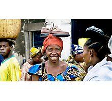 'Shoe Woman', Democratic Republic of Congo Photographic Print