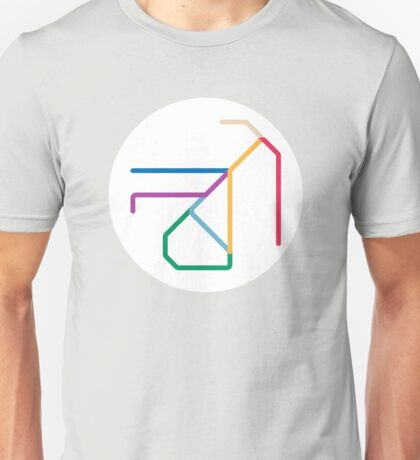 Mini Metros - San Francisco, United States (MUNI) Unisex T-Shirt
