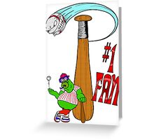 Philly Fan Greeting Card