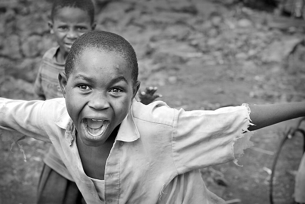 'Street kid' Goma, Democratic Republic of Congo by Melinda Kerr