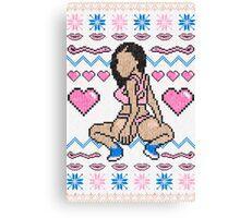 Sweaterconda Canvas Print