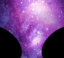 Galaxy Alien Sticker