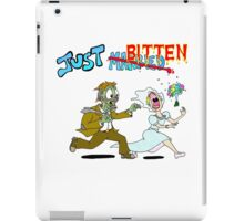 Zombies Just Married iPad Case/Skin
