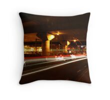 The Night Moves You 4, Melbourne  - www.canvasmyphotos.net Throw Pillow