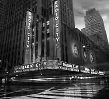 Radio City Music Hall, Study 1 by Randy  Le'Moine