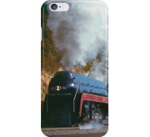 N&W #611 Climbs Christiansburg Mountain Grade - Shawsville, VA iPhone Case/Skin